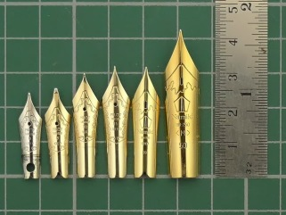 Image result for nib sizes